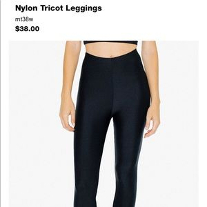 🖤American Apparel Nylon Leggings! 🖤
